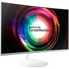 "Samsung C27H711 Monitor Curvo Quantum Dot 2k 75hz Gaming come nuovo garanzia 27"""