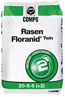 Concime per Prato - Floranid Rasen ®Twin 20-5-8+2+MgO da Kg 25 Compo