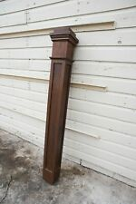 Antique Vintage Tall oversized Newell Newel Post stair staircase wood reclaimed