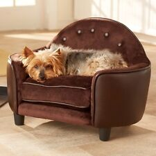 Dog Couch Sofa Elevated Pet Bed Sleeper Cushion Furniture Indoor Small Dog Cat