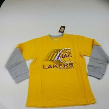 Los Angeles Lakers Youth Large Long Sleeve Crew Neck Top Shirt New nba fam