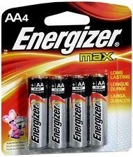 Energizer Alkaline Batteries AA 4 ea (Pack of 2)