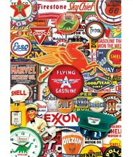 MasterPieces - World's Smallest - Retro Petrol - 1000 Piece Jigsaw Puzzle In Tin