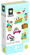 Cricut Cartridge - Pack Your Bags - Holiday, Vacation, Postage Stamps, Caravan