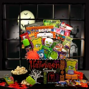 Halloween Fun & Games Gift Box/Kids 5-15 Games & Treats