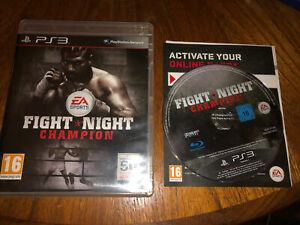 Fight Night Champion Ps3 - VGC - Support Small Businesses (Not Musicmagpie)