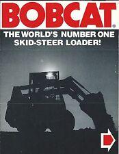 Equipment Brochure - Bobcat - Product Line Overview 10 models - c1976 (E3694)