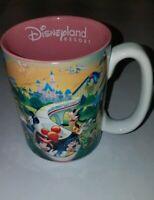 "Disneyland Resort 3D DISNEY Movie Characters 12 Oz Coffee ""Mom"" Coffee Mug Cup"