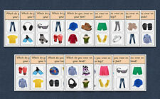 WH Question Cards - BODY AND CLOTHING - Autism / Speech and Language / EYFS