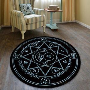 Anime Magic Matrix Carpet Round Floor Mat Home Decorate Area Rugs Multi-function