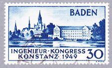 Baden Konstanz Mi.Nr. 46 Type I gestempelt und geprüft