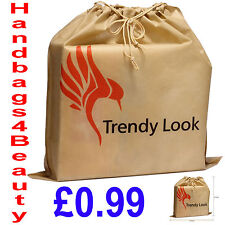 Dust Bag for Leather Handbags, Shoes, Belts, Gloves, Acc Drawstring Dust Bags