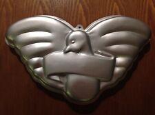 Vtg. Wilton Bird cake pan Wedding White Dove #502-2505 Boy Scout Eagle Pigeon