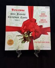 "Firestone ""Your Favorite Christmas Carols"": Vols 2 & 5 Rise Stevens Julie Andrew"