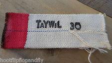 VINTAGE NOS taywil 30 TUBOLARE COTONE Stoppino 66 mm PIATTO X 185mm lungo RISCALDATORE Stoppino