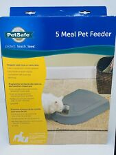 PetSafe 5 Meal Pet Feeder Timed Battery Operated Automatic Cat Dog