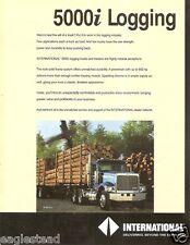 Truck Brochure - International - Navistar - 5000i Logging (TB95)