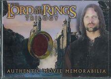 El Señor de los Anillos Trilogía Cromado Recuerdos Carta Aragorn Camisa