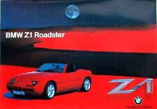 BMW Z1 Roadster/Car Poster Re print/Race/Unique
