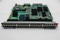 Used Cisco WS-X6848-GE-TX 48 Port Gigabit Ethernet Module