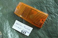 M59) VESPA PX 80 125 150 200 Verre de voyant orange 185976 nouveaux NOS