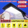 3000W 300000LM LED Solar Street Light PIR Motion Sensor Outdoor Wall Lamp+Remote