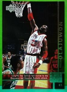Hakeem Olajuwon subset card 1997-98 Upper Deck #322
