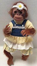 Painted Reborn Baby Orangutan/Chimp/ Monkey Doll