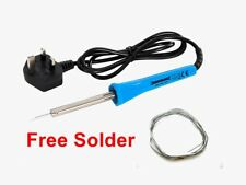 40 Watt Soldering Iron, Suitable For Small to medium size  Work, Mains Powered