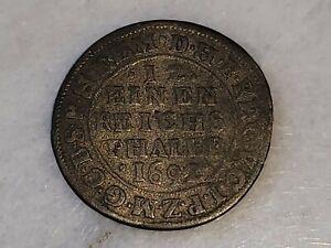 1692 Coin: 12 Einen Reichs Thaler, FRID III V
