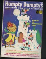 Humpty Dumpty's Magazine for Little Children January 1966 Dan Lawler Brown Bears
