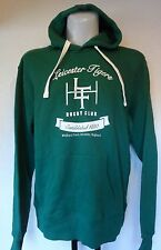 LEICESTER TIGERS GREEN HOODY OFFICIAL MERCHANDISE SIZE  ADULT XXL BRAND NEW TAGS