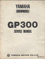 1976 YAMAHA SNOWMOBILE GP300 LIT-12618-99-00 SERVICE MANUAL (802)