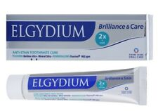 ELGYDIUM BRILLIANCE & CARE ANTI STAIN WHITENING TOOTHPASTE 1400ppm 30ml