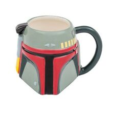 New listing New Star Wars Collectible Boba Fett Helmet Sculpted 20 Oz Ceramic Coffee Cup Mug