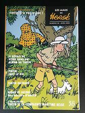 Revue des ADH  Amis de Hergé N° 38 ETAT NEUF Tintin
