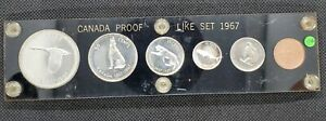1967 Canada Proof-Like Set in Capital Holder | Beautiful Coins!