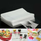 HOT 100pcs Clear Party Gift Chocolate Lollipop Favor Candy Cello Bags Cellophane