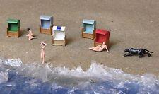 1:160 Traccia N scale piccole serie poltrona da spiaggia beach chair RECLINABILE de plage strandstoel