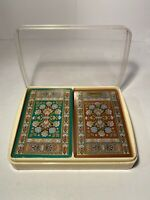 Congress Vintage Playing Cards Box Set 1980 One SEALED One Used Made In USA