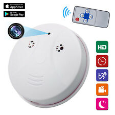Mini HD 1080P SPY Camera Hidden Smoke Detector Motion Detection Nanny Cam DVR