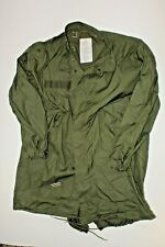 U.S. ARMY EXTREME COLD WEATHER FISH TAIL PARKA DATED 1983 SIZE LARGE
