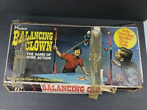 Hasbro Balancing Clown Game of High Wire Action Circus Thrills 98% Complete 1969
