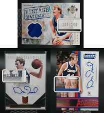 Dan Issel 3 Card Lot Autos 12-13 #/149 14-15 Threads #/199 Game-Worn Court Kings