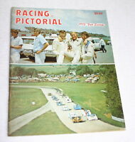 RACING PICTORIAL 1973 FALL EDITION USAC INDY NASCAR SPRINTS YARBOROUGH CAN-AM