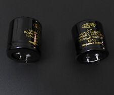 2pcs 10000uF/50V Nover LA Audio Grade Power Capacitor