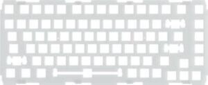 Glorious PC Gaming Race GMMK Pro 75 % Switch Plate - Polycarbonat, ANSI
