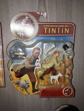 Figurine Tintin et Milou tirée du film edition Plastoy 2011 NEUF NEW figure
