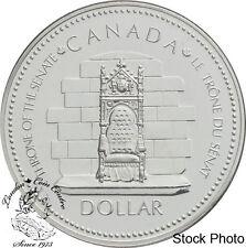 Canada 1977 $1 Silver Jubilee Elizabeth II Silver Dollar Coin - in Capsule Only