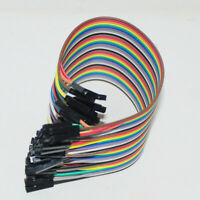 10/20/30cm 40 Pin Fashion Breadboard Dupont Jumper Wire Cable for Arduino